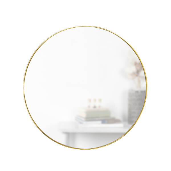 umbra hubba spiegel 86 cm rond koper