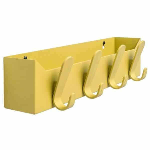 gele krok box kapstok opbergbox