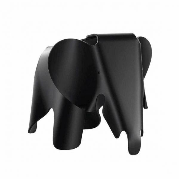 zwarte eames elephant van vitra
