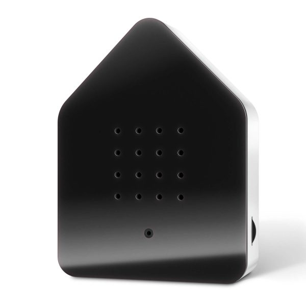 zwitscherbox zwart frame met witte achterkant