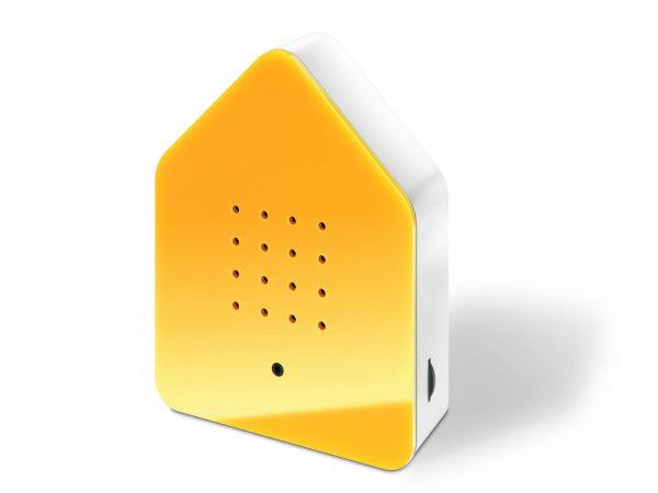 zwitscherbox geel