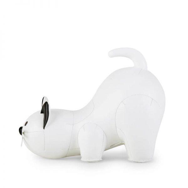 zuny boekensteun cat wit
