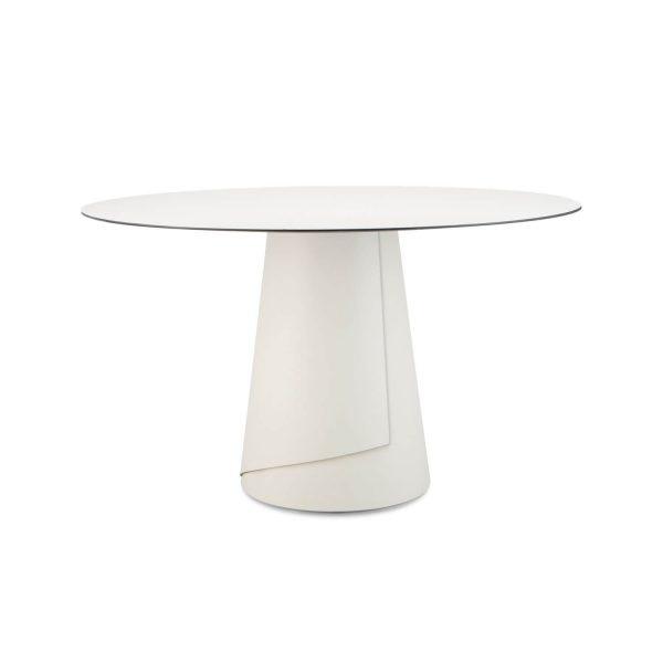 ignore ronde tafel dine wit 130