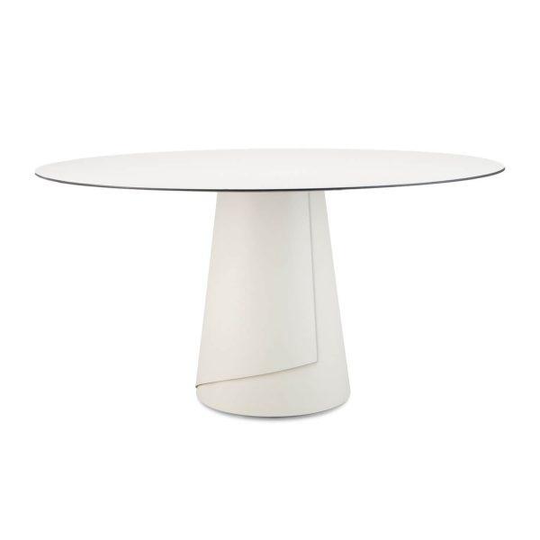 off white ronde tafel dine ignore amsterdam