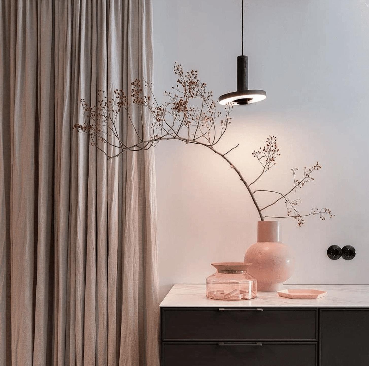 Tonone Beads Hanglamp Zwart