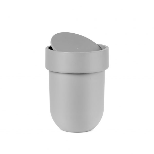 Toiletpedaal emmer grijs touch umbra