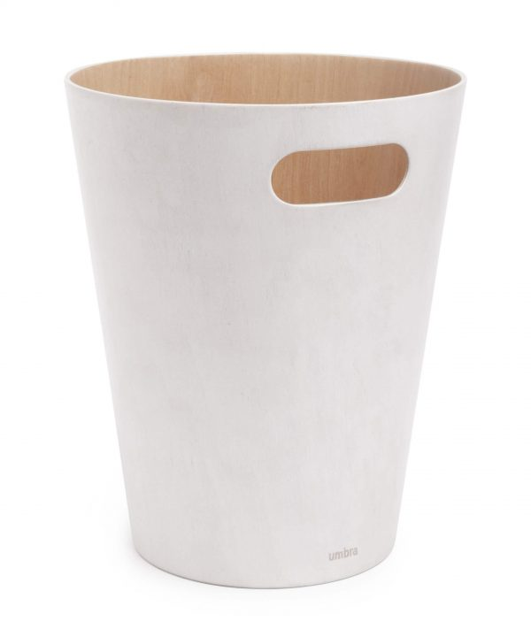 umbra woodrow papierbak wit