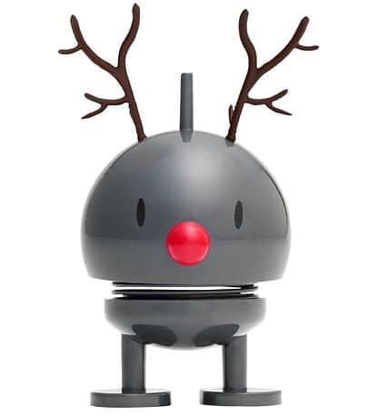 Small Reindeer Bumble Rendier Donker Grijs Hoptimist